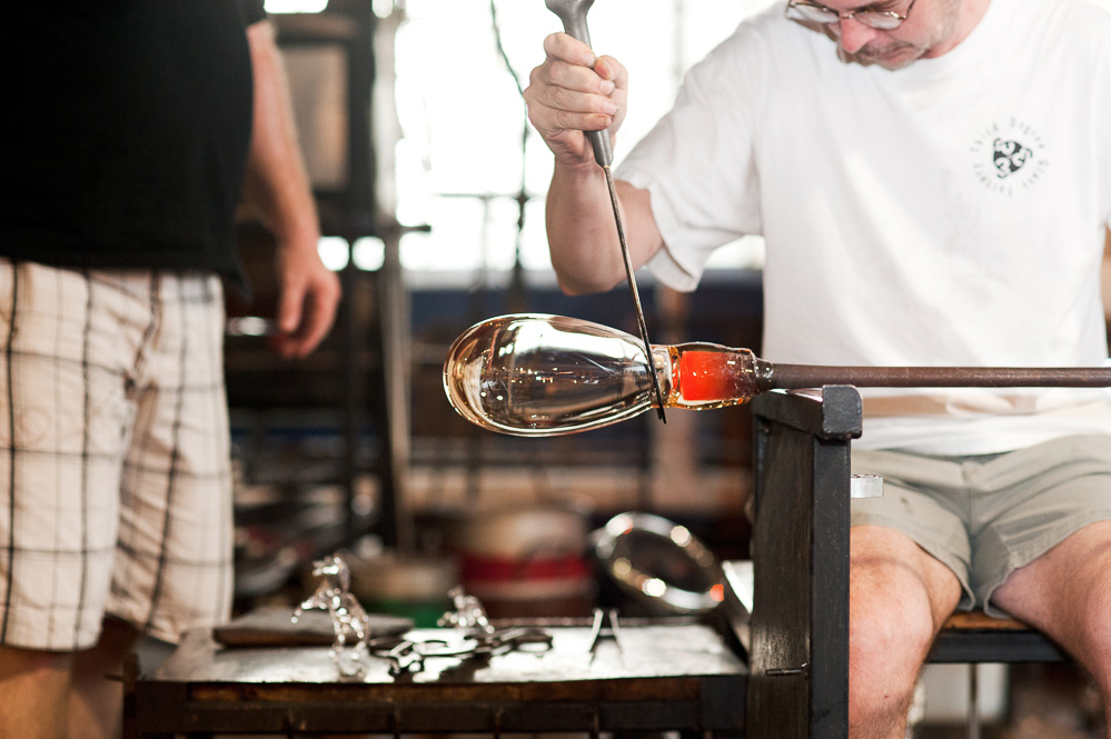 Wedding | Glass-Blowing Demonstration