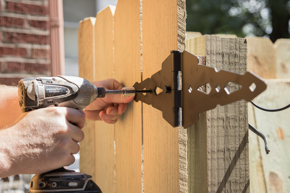 Privacy Fence | Building a Gate