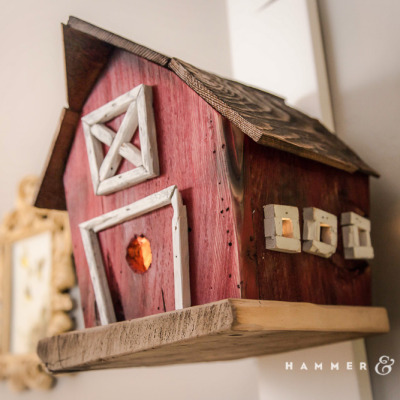 Birdhouse Nursery Nightlights: Dad's One Pre-Baby Contribution