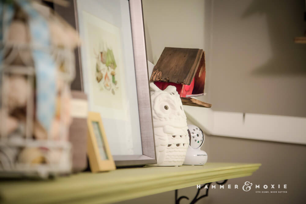 Adorable birdhouse nightlights for nursery | Hammer & Moxie