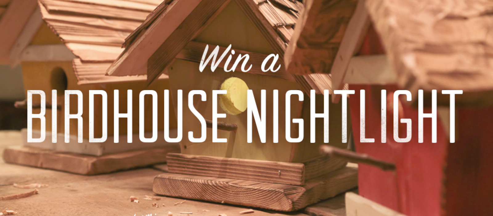 Win a Decorative Birdhouse Nightlight