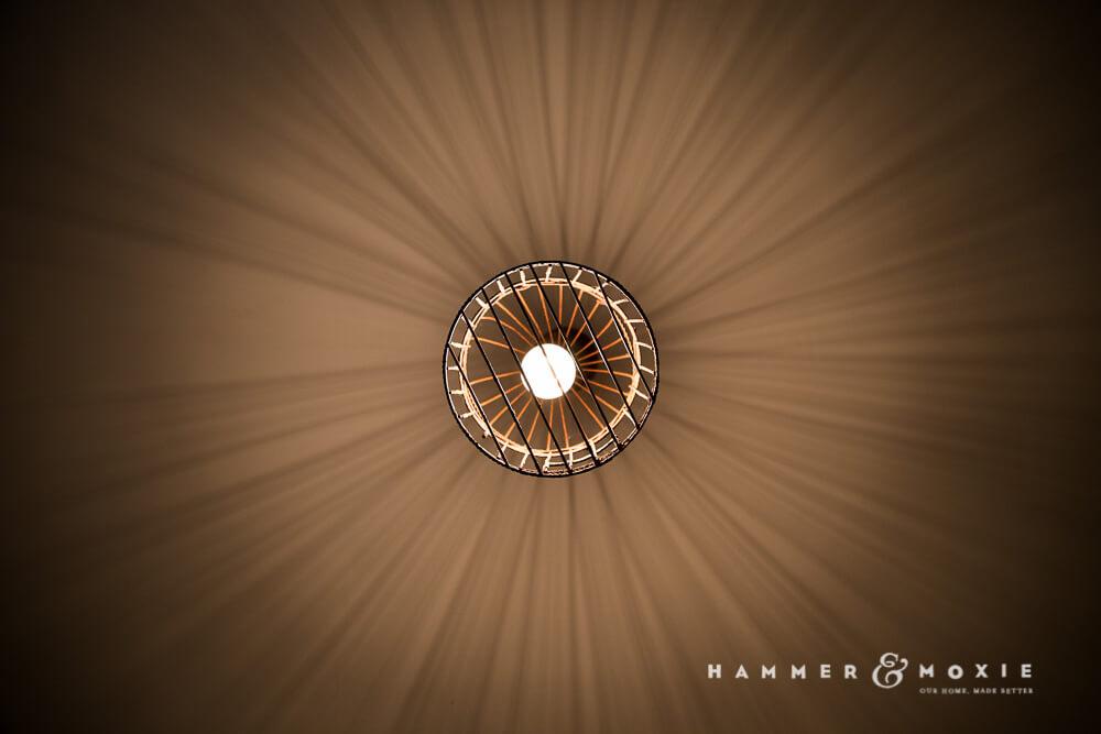 Birdcage Pendant Light | Shadows | Hammer & Moxie
