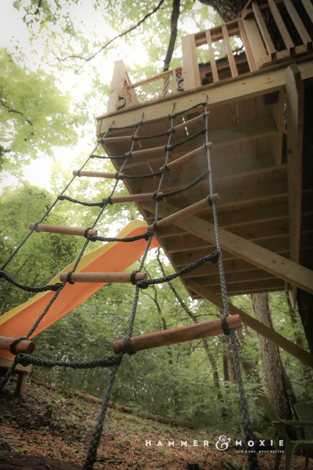 A Treehouse For Nana And Her Grandkids Hammer Amp Moxie