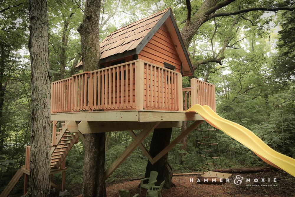 Treehouse Slide | Hammer & Moxie
